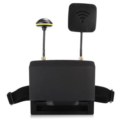 LS - 800D 5.8G FPV GogglesFPV Goggles &amp; Monitors<br>LS - 800D 5.8G FPV Goggles<br><br>Antenna: 14dBi flat, 14dBi mushroom<br>Battery: 3.7V 2000mAh LiPo ( built-in )<br>Brightness: 450cd / square meter<br>Charge time: 4.5 hours<br>FPV Equipments: FPV Goggles<br>Functions: Video<br>Package Contents: 1 x Pair of FPV Goggles, 1 x Mushroom Antenna, 1 x Flat Antenna, 1 x Power Adapter, 1 x USB Cable, 1 x AV Out Cable, 1 x Storage Case, 1 x English Manual<br>Package size (L x W x H): 20.00 x 12.00 x 18.80 cm / 7.87 x 4.72 x 7.4 inches<br>Package weight: 0.8400 kg<br>Product size (L x W x H): 14.50 x 17.70 x 8.00 cm / 5.71 x 6.97 x 3.15 inches<br>Product weight: 0.3860 kg<br>Resolution: 854 x 480<br>Screen size: 5 inches<br>Sensitivity: -90dBm<br>TV System: PAL, NTSC<br>Working Time: 2 hours