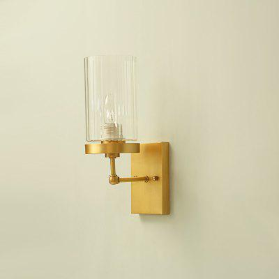 ZGPAX DJB1028 Minimalist E14 Base Wall Light 220VLiving room lighting<br>ZGPAX DJB1028 Minimalist E14 Base Wall Light 220V<br><br>Battery Included: No<br>Brand: ZGPAX<br>Bulb Base: E14<br>Bulb Included: No<br>Chain / Cord Adjustable or Not: Chain / Cord Not Adjustable<br>Chain / Cord Length ( CM ): 0<br>Features: Designers<br>Fixture Height ( CM ): 34<br>Fixture Length ( CM ): 17<br>Fixture Width ( CM ): 17<br>Light Direction: Downlight<br>Number of Bulb: 1 Bulb<br>Number of Bulb Sockets: 1<br>Package Contents: 1 x Copper Body, 1 x Glass Lampshade<br>Package size (L x W x H): 23.00 x 25.00 x 35.00 cm / 9.06 x 9.84 x 13.78 inches<br>Package weight: 2.6200 kg<br>Product weight: 1.9000 kg<br>Shade Material: Copper, Glass<br>Style: Modern/Contemporary<br>Suggested Room Size: 0 - 5?<br>Suggested Space Fit: Bedroom,Dining Room,Living Room,Study Room<br>Type: Pendant Light<br>Voltage ( V ): 220V