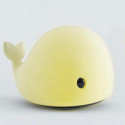 Dolphin Sensitive LED night light