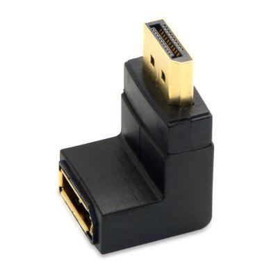 CY DP - 086 - DN DP Male to Female Adapter 90 Degree