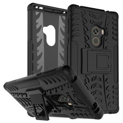 Luanke 3D Relief Kickstand Cover Case for Xiaomi Mi MIX