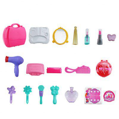 Children Simulation Mini Cosmetic Case Toy SetPretend Play<br>Children Simulation Mini Cosmetic Case Toy Set<br><br>Age: Above 3 Years<br>Material: ABS<br>Package Contents: 1 x Set of Cosmetic Case Toys<br>Package size (L x W x H): 22.00 x 12.00 x 24.00 cm / 8.66 x 4.72 x 9.45 inches<br>Package weight: 1.2300 kg<br>Product size (L x W x H): 20.00 x 10.00 x 22.00 cm / 7.87 x 3.94 x 8.66 inches<br>Product weight: 1.0000 kg<br>Type: Pretend Play