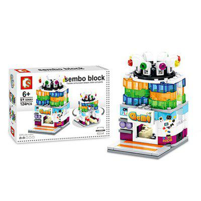 Sembo Street View Game Room Building Blocks Bricks Toy new magnet game mini enlighten magnetic building blocks models