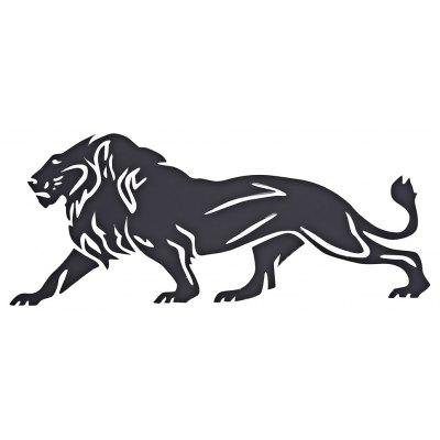 Personalized Lion Car Sticker