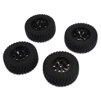 AUSTAR AX - 3005 Rubber TireRC Car Parts<br>AUSTAR AX - 3005 Rubber Tire<br><br>Brand: AUSTAR<br>Package Contents: 4 x Tire ( with Hub )<br>Package size (L x W x H): 21.50 x 28.00 x 4.80 cm / 8.46 x 11.02 x 1.89 inches<br>Package weight: 0.4800 kg<br>Product weight: 0.4330 kg<br>Type: Tire