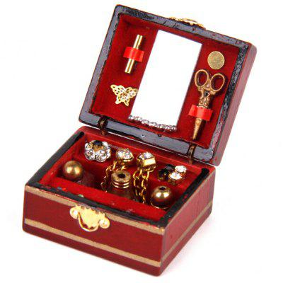 Doll House Miniature Wooden Jewelry Box ToyPretend Play<br>Doll House Miniature Wooden Jewelry Box Toy<br><br>Age: Above 3 Years<br>Material: Wood<br>Package Contents: 1 x Jewelry Box Toy<br>Package size (L x W x H): 34.00 x 30.00 x 22.00 cm / 13.39 x 11.81 x 8.66 inches<br>Package weight: 0.0600 kg<br>Product size (L x W x H): 32.00 x 28.00 x 20.00 cm / 12.6 x 11.02 x 7.87 inches<br>Product weight: 0.0130 kg<br>Type: Pretend Play
