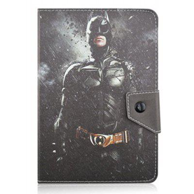 Cartoon Super Man Custodia Prottetiva di Tablet con Stampa di Batman in Pelle PU