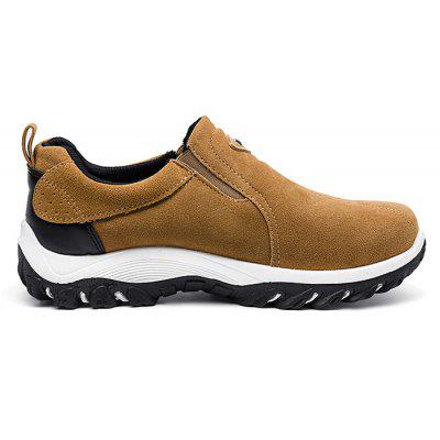 Fashionable Slip-on Outdoor Casual Sports Shoes for MenCasual Shoes<br>Fashionable Slip-on Outdoor Casual Sports Shoes for Men<br><br>Contents: 1 x Pair of Shoes<br>Decoration: Hollow Out<br>Materials: Rubber, Suede<br>Occasion: Sports<br>Package Size ( L x W x H ): 33.00 x 22.00 x 11.00 cm / 12.99 x 8.66 x 4.33 inches<br>Seasons: Spring,Summer<br>Style: Casual<br>Type: Casual Shoes<br>Upper Material: Suede
