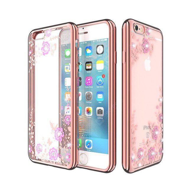 Housse en silicone Diamond TPU pour iPhone 6 / 6S