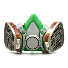 Dual Cartridges Dust-proof Gas Respirator
