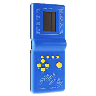 Classic Game ConsoleOther Educational Toys<br>Classic Game Console<br><br>Age: 3 Years+<br>Applicable gender: Unisex<br>Design Style: Digital<br>Features: Educational<br>Material: Electronic Components, Plastic<br>Package Contents: 1 x Game Console ( with Batteries )<br>Package size (L x W x H): 24.20 x 14.00 x 3.80 cm / 9.53 x 5.51 x 1.5 inches<br>Package weight: 0.1750 kg<br>Product size (L x W x H): 7.50 x 2.30 x 18.30 cm / 2.95 x 0.91 x 7.2 inches<br>Product weight: 0.1010 kg<br>Small Parts : Yes<br>Type: Intelligence toys<br>Washing: No