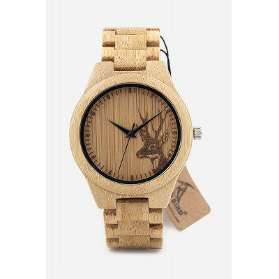 BOBO BIRD D28 Bamboo Men Quartz Watch