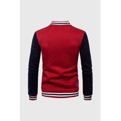Fashion Warm Baseball JacketMens Jackets &amp; Coats<br>Fashion Warm Baseball Jacket<br><br>Closure Type: Single Breasted<br>Clothes Type: Jackets<br>Embellishment: Others<br>Materials: Cotton<br>Package Content: 1 x Jacket<br>Package Dimension: 20.00 x 20.00 x 2.00 cm / 7.87 x 7.87 x 0.79 inches<br>Package weight: 0.4900 kg<br>Pattern Type: Others<br>Product weight: 0.4600 kg<br>Seasons: Autumn,Spring<br>Shirt Length: Regular<br>Sleeve Length: Long Sleeves<br>Style: Fashion, Casual<br>Thickness: Medium thickness