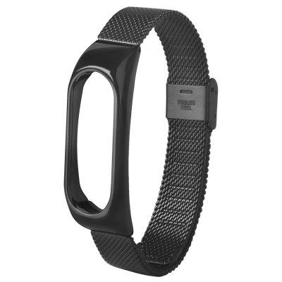 Stainless Steel Wristband for Xiaomi Mi Band 2 Metal Case 0 127mm standard stainless steel wire brush for metal anilox roller