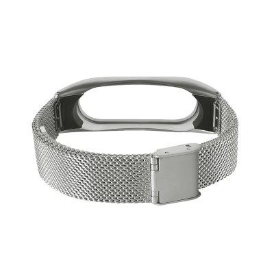Stainless Steel Wristband for Xiaomi Mi Band 2 Metal CaseSmart Watch Accessories<br>Stainless Steel Wristband for Xiaomi Mi Band 2 Metal Case<br><br>Features: Replacement Strap<br>Package Contents: 1 x Wristband<br>Package size: 9.00 x 7.00 x 1.80 cm / 3.54 x 2.76 x 0.71 inches<br>Package weight: 0.0600 kg<br>Product size: 24.50 x 1.80 x 0.60 cm / 9.65 x 0.71 x 0.24 inches<br>Product weight: 0.0400 kg