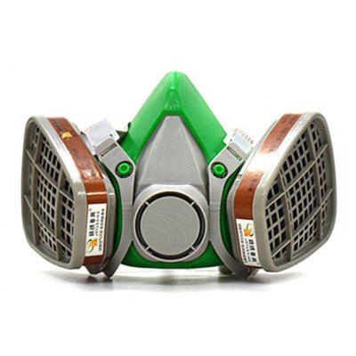 Dual Cartridges Gas Respirator