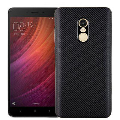 Luanke Carbon Fiber TPU Case Cover for Xiaomi Redmi Note 4X