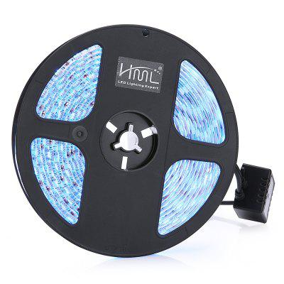 2PCS / Kit 5M 72W 300 5050 SMD IPX65 RGB LED Strip LightLED Strips<br>2PCS / Kit 5M 72W 300 5050 SMD IPX65 RGB LED Strip Light<br><br>Actual Lumens: 5800Lm<br>Connector Type: 4PIN<br>Features: Flexible, IP-65<br>Input Voltage: DC12<br>LED Type: SMD-5050<br>Length: 5M<br>Material: FPC, PC<br>Number of LEDs: 300<br>Optional Light Color: RGB<br>Package Contents: 2 x Strip Light, 1 x 20 Key Remote Control, 1 x Receiver, 1 x Power Adapter, 1 x English User Manual<br>Package size (L x W x H): 19.00 x 19.00 x 6.00 cm / 7.48 x 7.48 x 2.36 inches<br>Package weight: 0.7750 kg<br>Product size (L x W x H): 15.50 x 15.50 x 1.00 cm / 6.1 x 6.1 x 0.39 inches<br>Product weight: 0.6000 kg<br>Rated Power (W): 72W<br>SMD: 5050<br>Theoretical Lumens: 6000Lm<br>Type: LED Strip<br>Waterproof: Yes