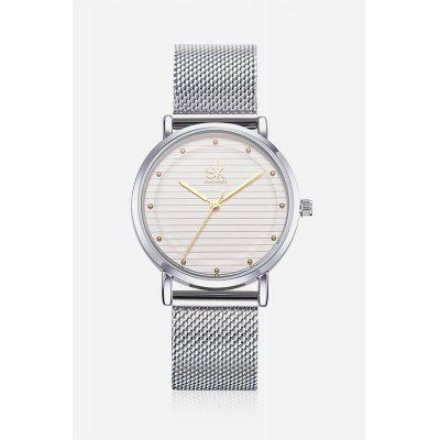 K0049 Round Dial Women Wristwatch