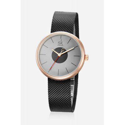 K0041L Business Quartz Women WristwatchWomens Watches<br>K0041L Business Quartz Women Wristwatch<br><br>Available Color: Black,White<br>Band material: Stainless Steel<br>Band size: 21.5 x 1.5cm<br>Case material: Alloy<br>Clasp type: Hook buckle<br>Dial size: 3.8 x 3.8 x 0.8cm<br>Display type: Analog<br>Movement type: Quartz watch<br>Package Contents: 1 x Wristwatch, 1 x Box<br>Package size (L x W x H): 28.00 x 8.00 x 3.50 cm / 11.02 x 3.15 x 1.38 inches<br>Package weight: 0.1100 kg<br>Product size (L x W x H): 21.50 x 3.80 x 0.80 cm / 8.46 x 1.5 x 0.31 inches<br>Product weight: 0.0600 kg<br>Shape of the dial: Round<br>Watch style: Business, Fashion<br>Watches categories: Women<br>Water resistance : 30 meters<br>Wearable length: 19.5cm