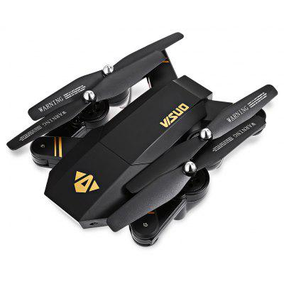 TIANQU XS809W Sklopivi RC Quadcopter - RTF - BLACK S ONE BATTERY, 2MP KAMERA + AIR PRESS ALTITUDE