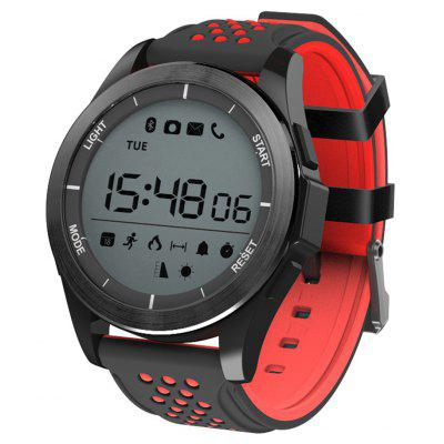 NO.1 F3 Smartwatch Black and Red