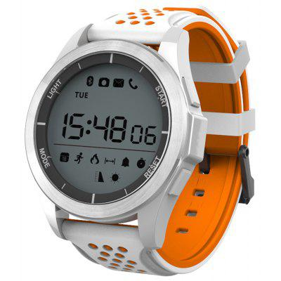 NO.1 F3 Smartwatch White and Orange