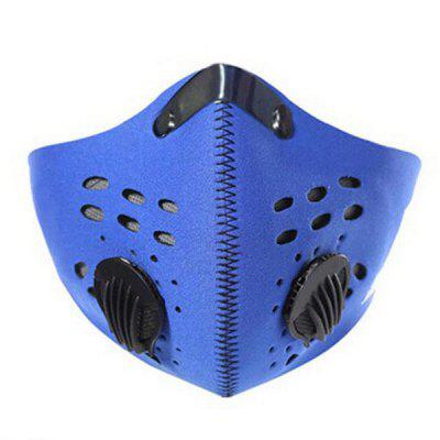 PM 2.5 Anti-dust Breathable Half Face Protective Mask with Filter