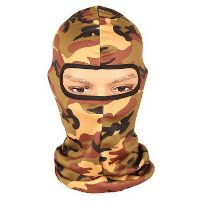 Tactical Camouflage Cycling Protective Full Cover Face MaskMasks<br>Tactical Camouflage Cycling Protective Full Cover Face Mask<br><br>Feature: Breathable, High elasticity, Quick Dry<br>Package Contents: 1 x Mask<br>Package size (L x W x H): 45.00 x 25.00 x 1.00 cm / 17.72 x 9.84 x 0.39 inches<br>Package weight: 0.0800 kg<br>Product size (L x W x H): 44.00 x 24.50 x 1.00 cm / 17.32 x 9.65 x 0.39 inches<br>Product weight: 0.0350 kg<br>Suitable Crowds: Unisex