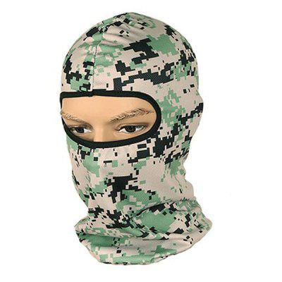 Buy COLORMIX Tactical Camouflage Cycling Protective Full Cover Face Mask for $4.60 in GearBest store