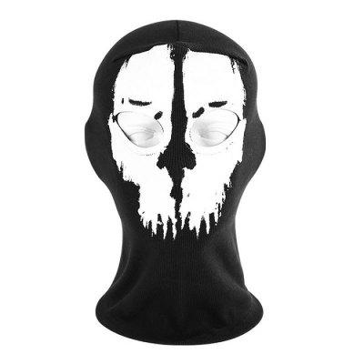 Skull Pattern Cycling Neck Protective Full Cover Face Mask