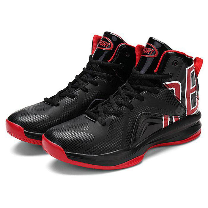 Men High Top Leather Outdoor Sneakers