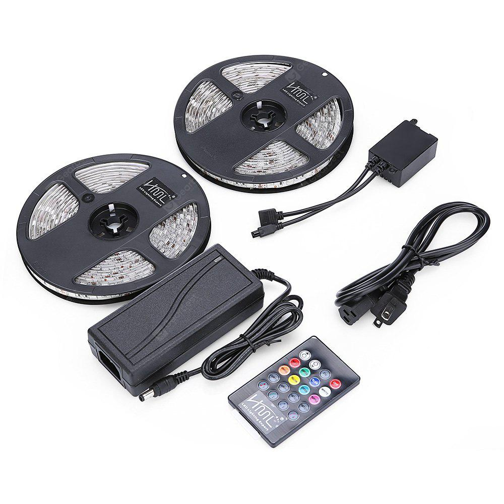 2PCS / Kit 5M 72W 300 5050 SMD IPX65 RGB LED Strip Light