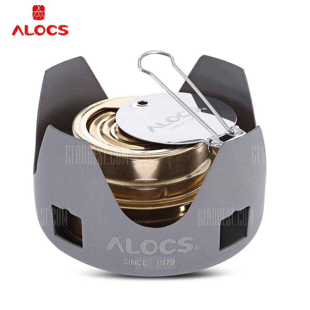 Alocs High Quality Spirit Burner Alcohol Stove for Outdoor Camping Picnic Hiking - COLORMIX