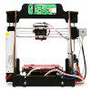 Geeetech pro W Prusa I3 DIY Cloud 3D Printer Kit - BLACK