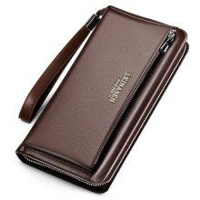 Luxury Genuine Leather Business Wallet for Men
