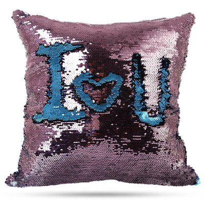 Reversible Sequins DIY Pillow Cases Decorative Pillowcase