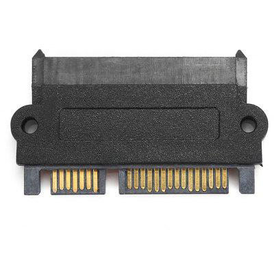 SATA 22-pin 7 + 15 Male to Female Adapter Connector