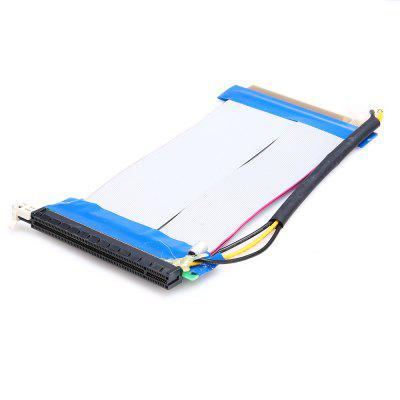 PCI-E x16 Extension Cable Riser Card with Molex ConnectorOther PC Parts<br>PCI-E x16 Extension Cable Riser Card with Molex Connector<br><br>Package size: 15.00 x 13.00 x 3.00 cm / 5.91 x 5.12 x 1.18 inches<br>Package weight: 0.0950 kg<br>Packing List: 1 x Flexible Extender Cable<br>Product size: 20.00 x 11.00 x 1.00 cm / 7.87 x 4.33 x 0.39 inches<br>Product weight: 0.0740 kg<br>Type: PCI Express x16 Riser Card Flexible Extender Cable