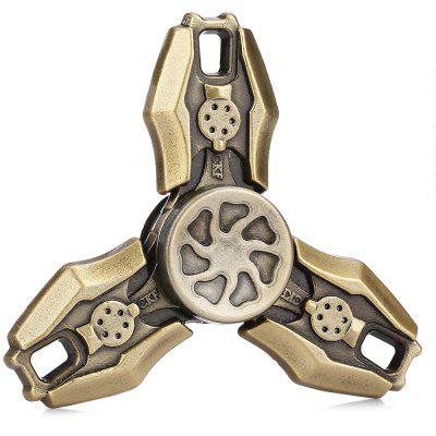 Three-blade Retro CFK Alloy ADHD Fidget SpinnerFidget Spinners<br>Three-blade Retro CFK Alloy ADHD Fidget Spinner<br><br>Center Bearing Material: Stainless Steel<br>Color: Bronzed<br>Frame material: Alloy<br>Package Contents: 1 x Fidget Spinner, 1 x Box<br>Package size (L x W x H): 9.00 x 9.00 x 2.00 cm / 3.54 x 3.54 x 0.79 inches<br>Package weight: 0.1100 kg<br>Product size (L x W x H): 6.50 x 6.50 x 1.40 cm / 2.56 x 2.56 x 0.55 inches<br>Product weight: 0.0500 kg<br>Swing Numbers: Tri-Bar<br>Type: Triple Blade, Retro