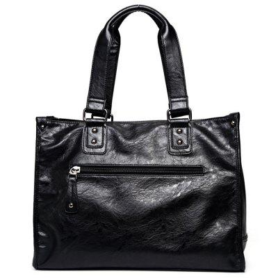 Fashionable Multi-functional PU Leather HandbagMens Bags<br>Fashionable Multi-functional PU Leather Handbag<br><br>Closure Type: Zip<br>Color: Black<br>Material: PU<br>Package Size(L x W x H): 42.00 x 33.00 x 14.00 cm / 16.54 x 12.99 x 5.51 inches<br>Package weight: 1.0470 kg<br>Packing List: 1 x Handbag<br>Product Size(L x W x H): 40.00 x 31.00 x 12.00 cm / 15.75 x 12.2 x 4.72 inches<br>Product weight: 0.4000 kg<br>Style: Business<br>Type: Handbag