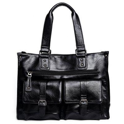 Fashionable Multi-functional PU Leather Handbag