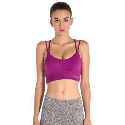 Strap Sports Fashion Rim Running Bra