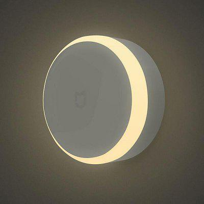 Gearbest Xiaomi MiJIA IR Sensor and Photosensitive Night Light  -  WHITE