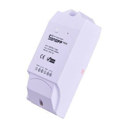 Temperature Humidity Controller WiFi Remote Timing SwitchPower Strips<br>Temperature Humidity Controller WiFi Remote Timing Switch<br><br>Appliance Type: Remote Controller<br>Color: White<br>Connector Type: USB<br>Package Contents: 1 x Temperature Humidity Controller Smart Home Wireless Switch, 1 x Adapter<br>Package size (L x W x H): 15.00 x 10.00 x 7.00 cm / 5.91 x 3.94 x 2.76 inches<br>Package weight: 0.1440 kg<br>Product size (L x W x H): 12.00 x 5.00 x 3.00 cm / 4.72 x 1.97 x 1.18 inches<br>Product weight: 0.0730 kg