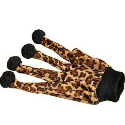 Leopard Print Glove Toy for Cats