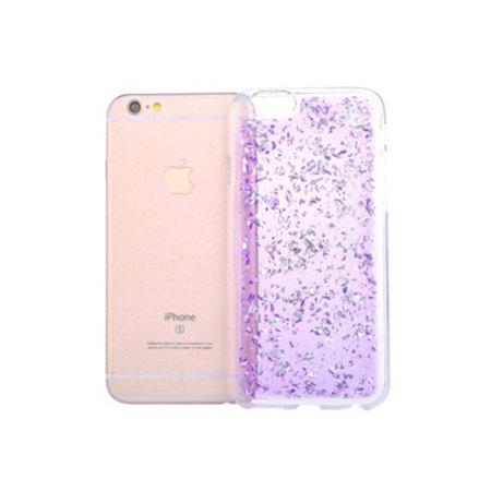 Gold Glitter Silicone Phone Cover pour iPhone 6 / 6s