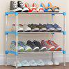 3 Layer Practical DIY Shoe Rack - SILVER