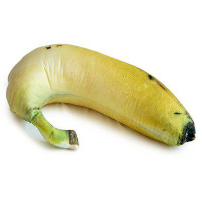 Buy YELLOW Creative Banana Shaped Design Throw Pillow for $24.34 in GearBest store