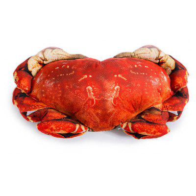 Buy COLORMIX Creative Crab Shaped Design Throw Pillow for $25.49 in GearBest store
